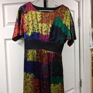 Trina Turk 100 % Silk Dress